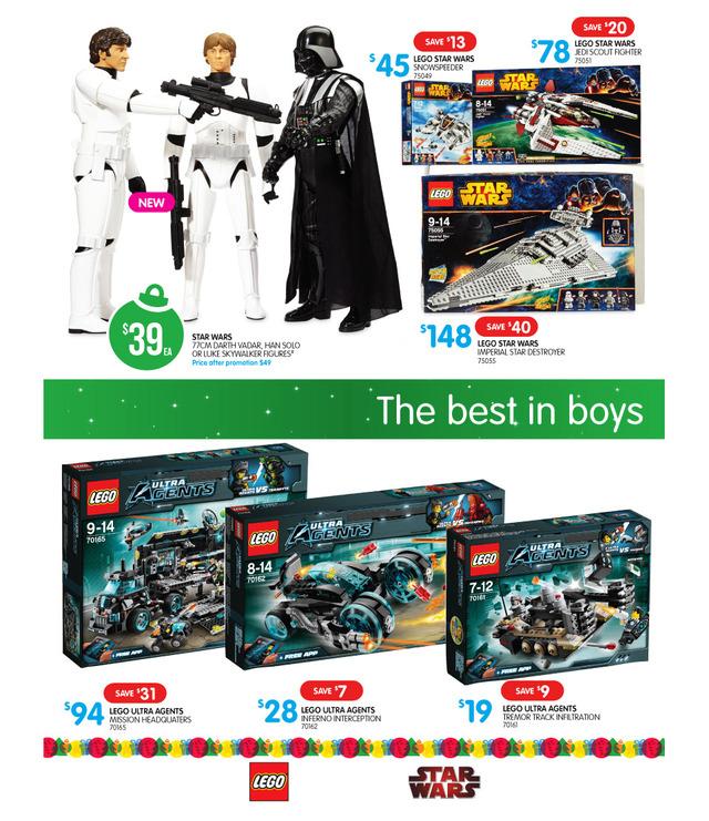 Big W LEGO Sale Late November 2014