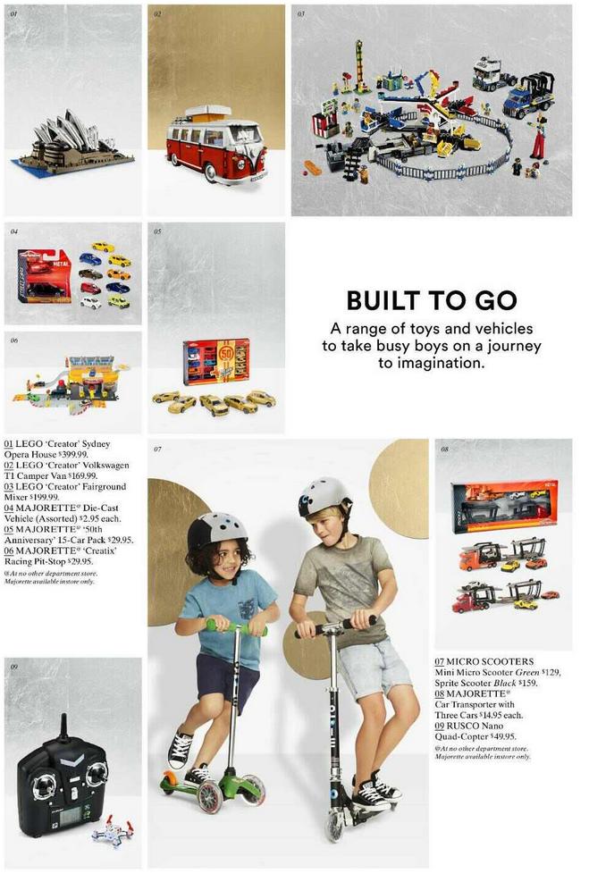 David Jones November 2014 LEGO Sale