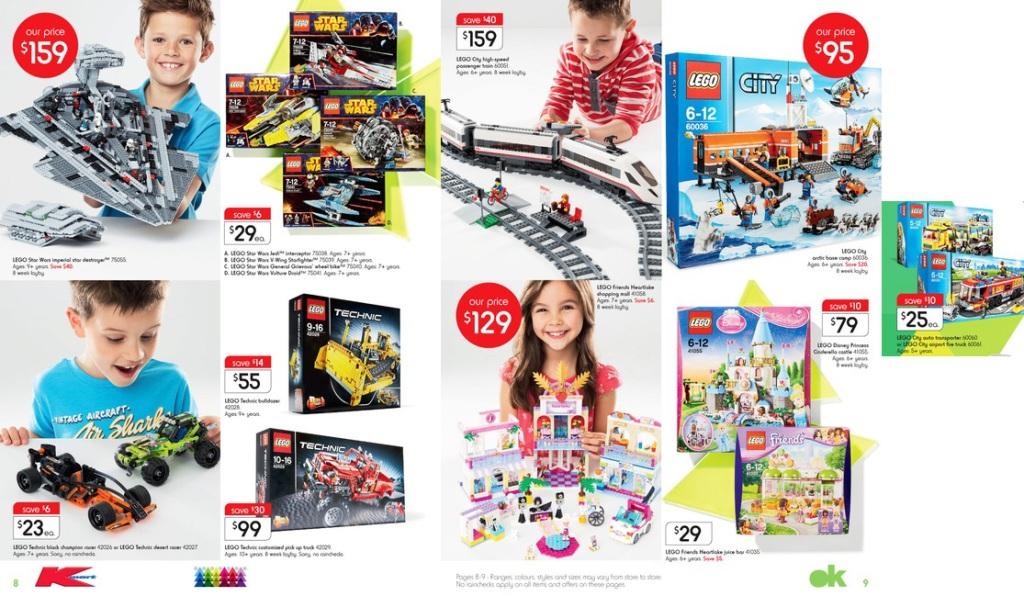Kmart November 2014 LEGO Sale