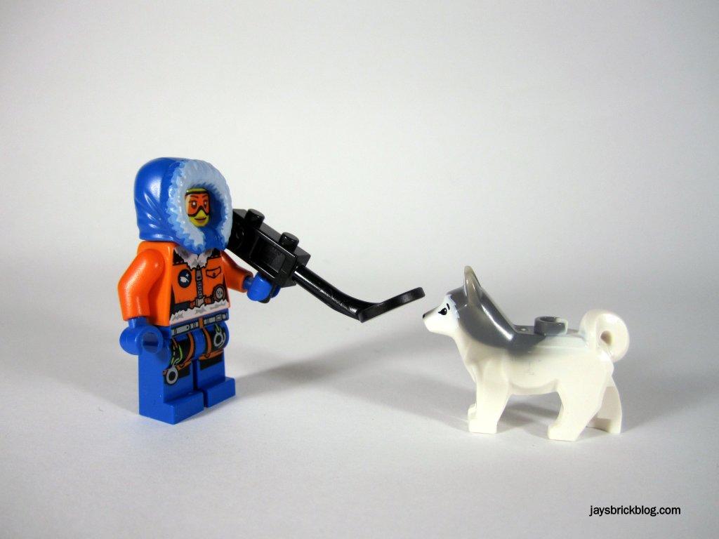 LEGO 60034 Arctic Helicrane Arctic Explorer Husky