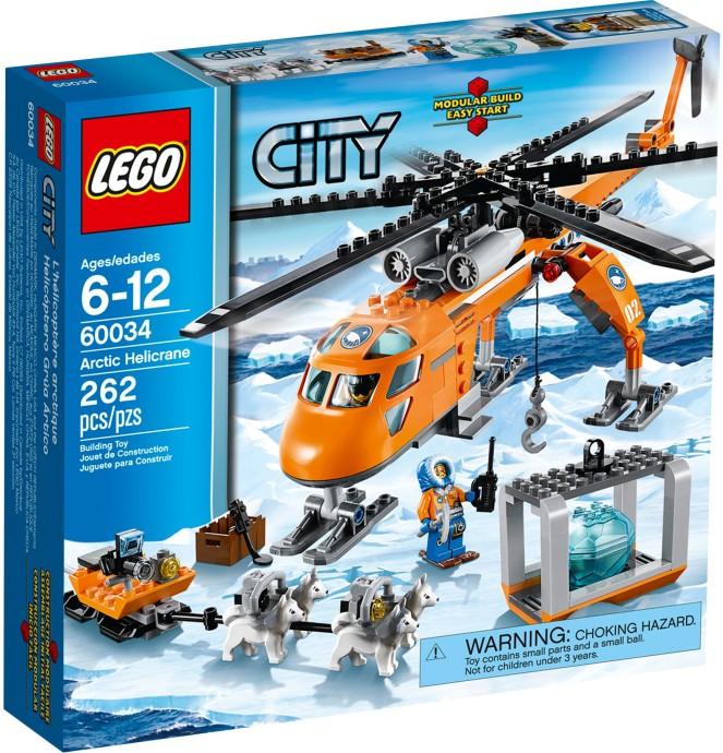 LEGO 60034 Arctic Helicrane Box