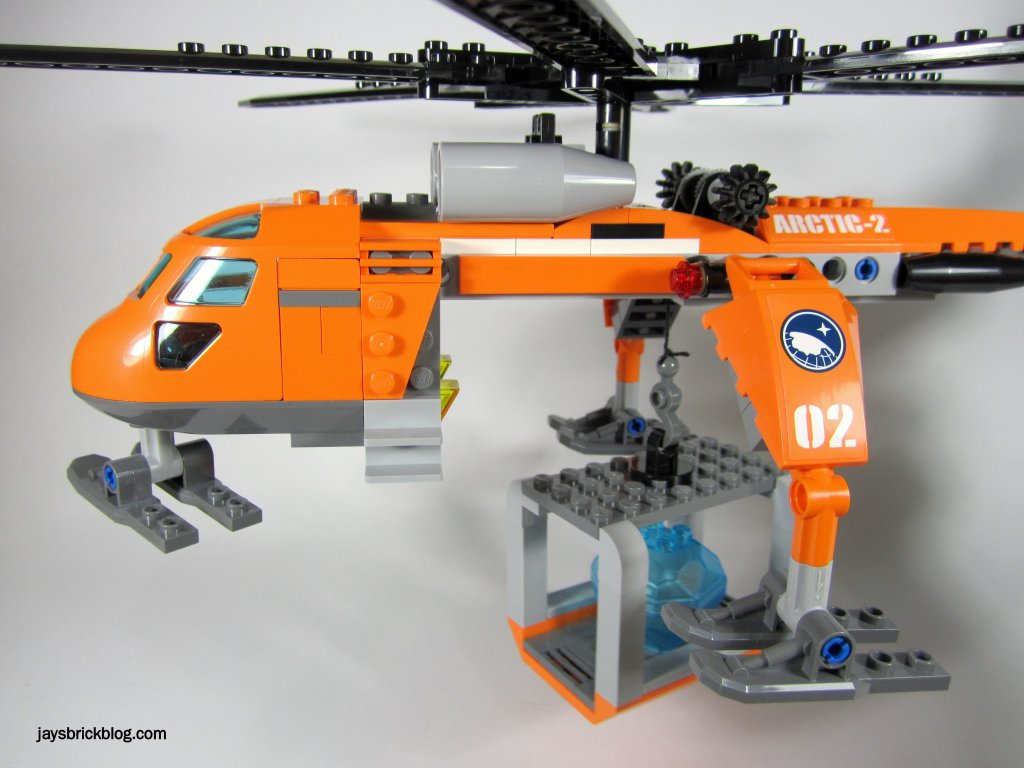 LEGO 60034 Arctic Helicrane Carrying Container