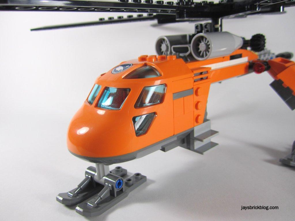 LEGO 60034 Arctic Helicrane Cockpit Side