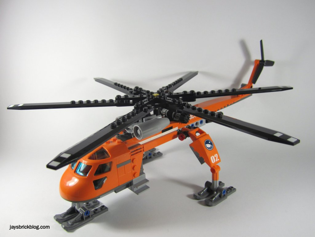 Review: LEGO City 60034 Arctic Helicrane