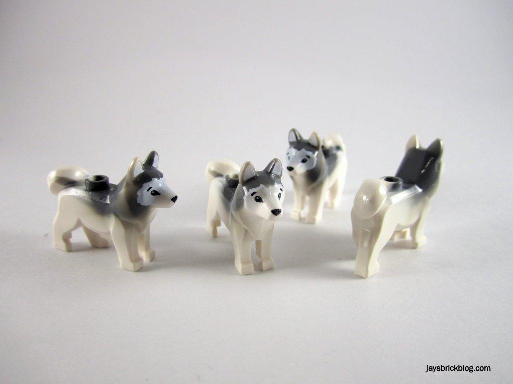 LEGO 60034 Arctic Helicrane Huskies