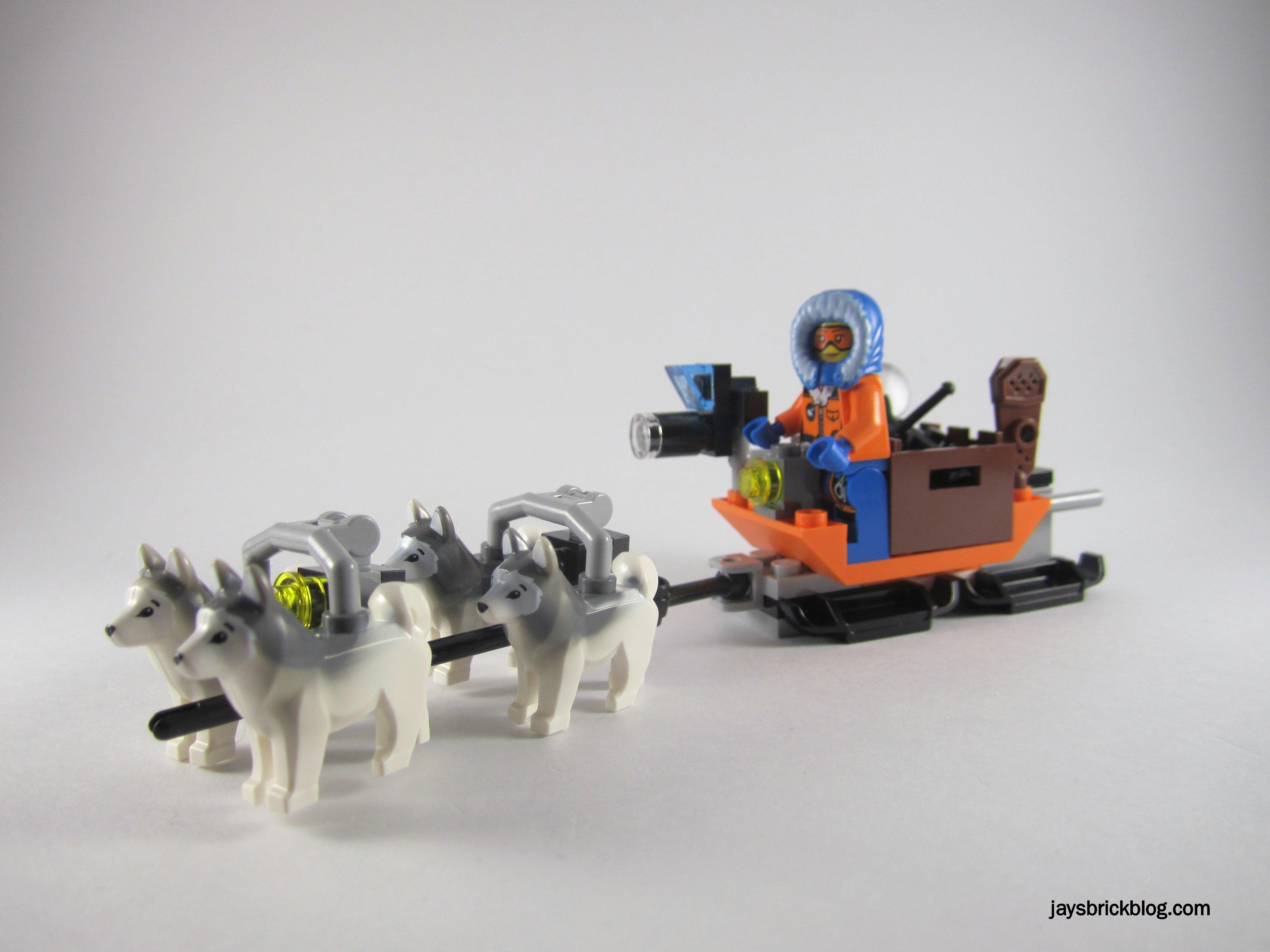 Review Lego City 60034 Arctic Helicrane