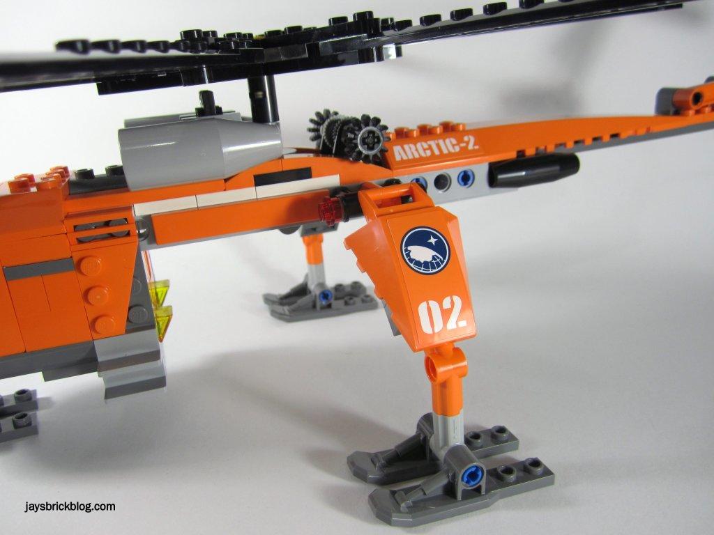 LEGO 60034 Arctic Helicrane Legs