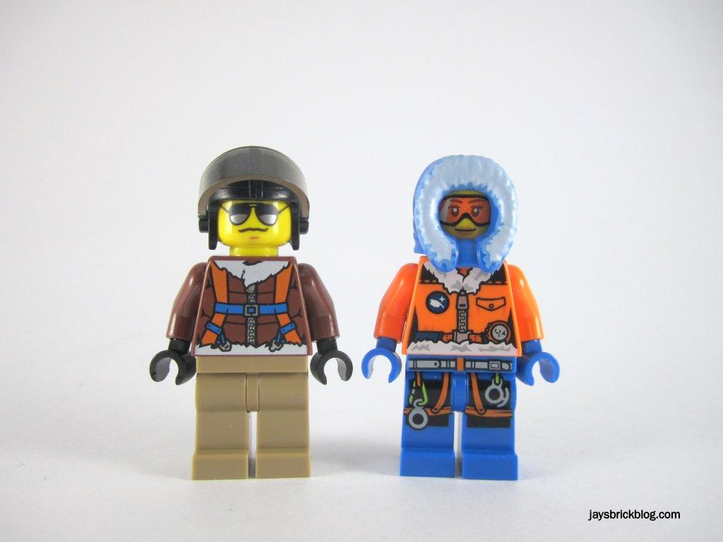 LEGO 60034 Arctic Helicrane Minifigures