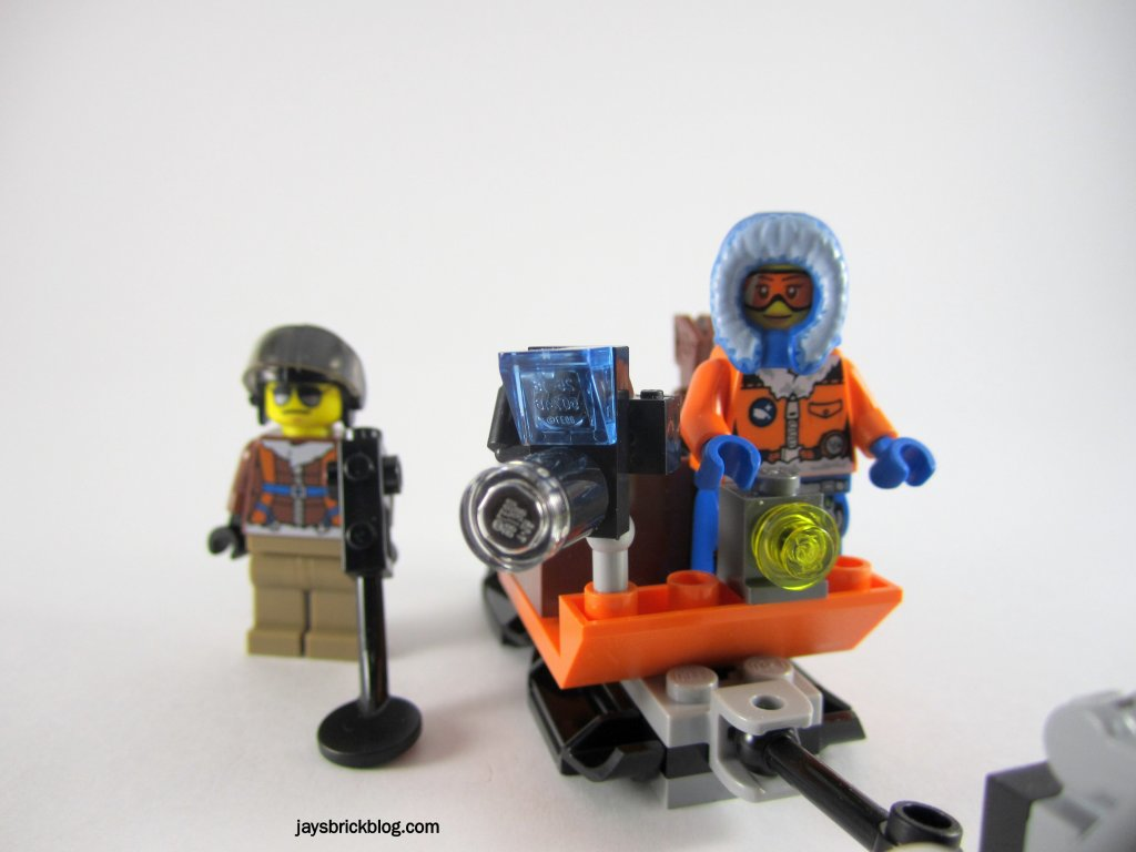 LEGO 60034 Arctic Helicrane Research Sled