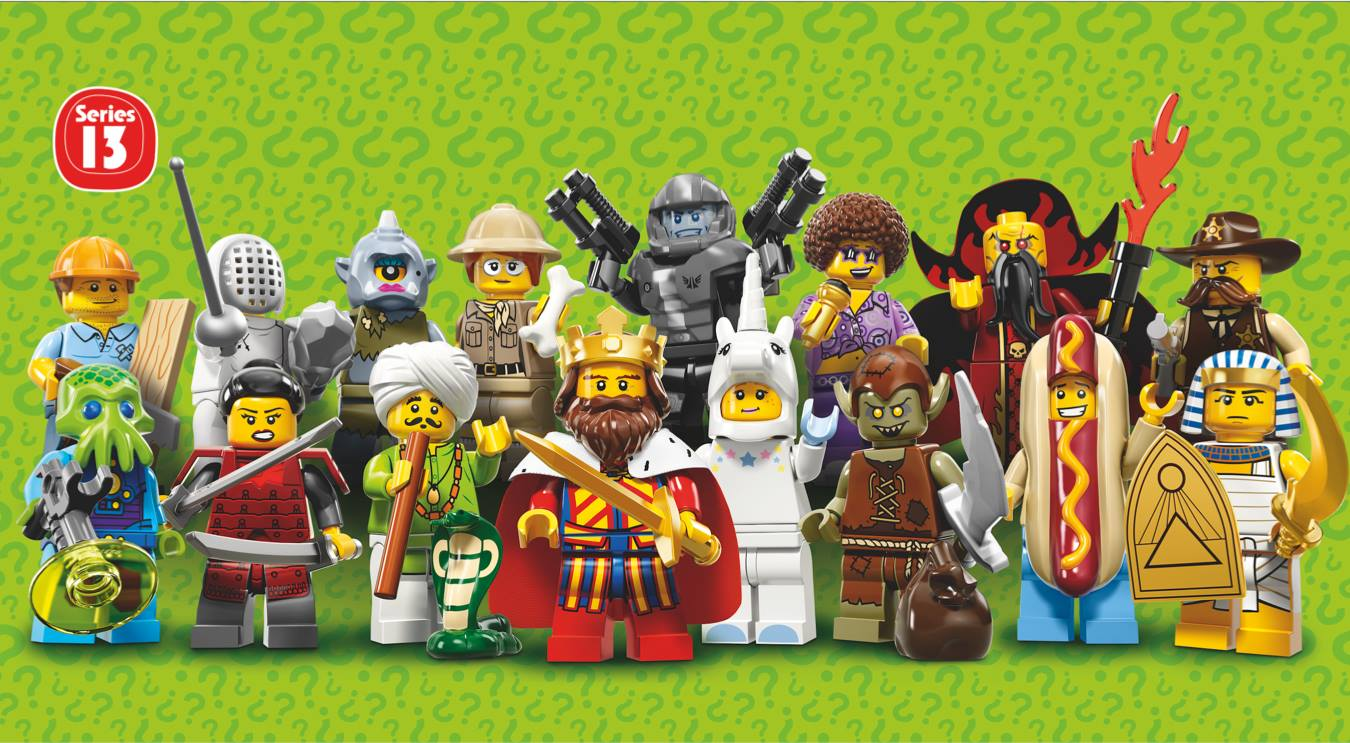 lego minifigures series 13 -#main