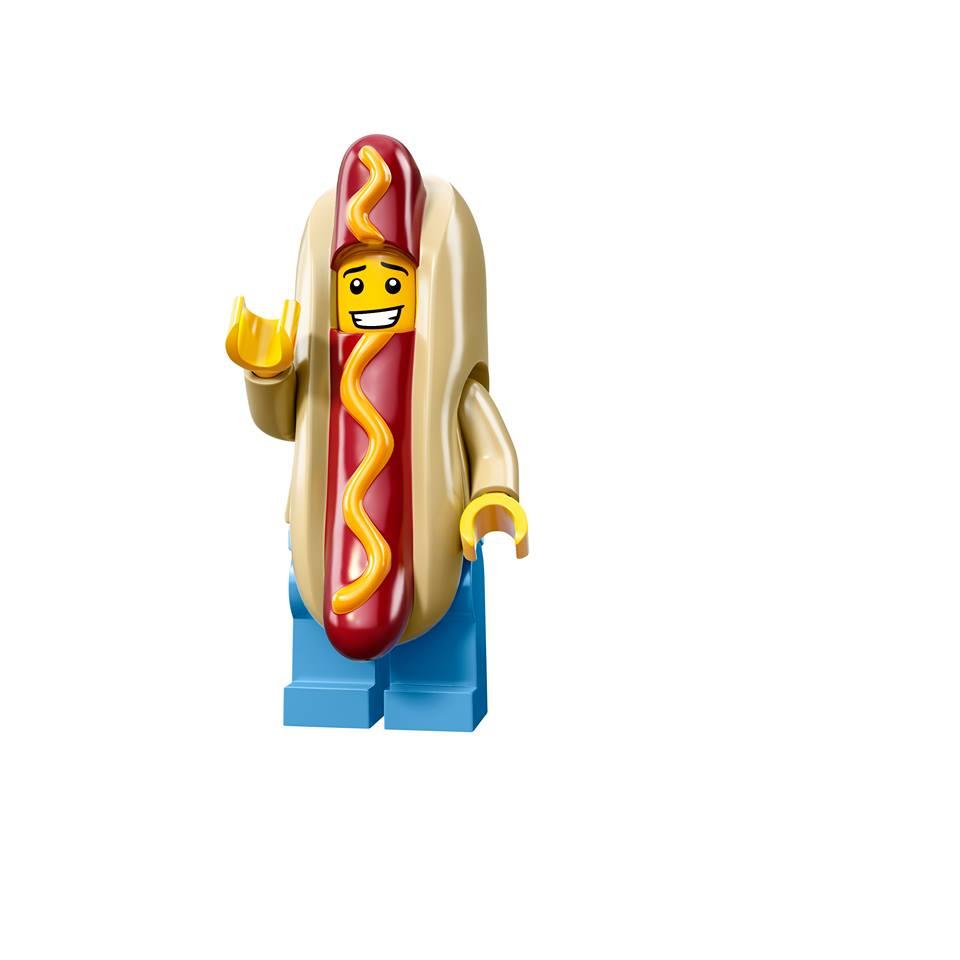 Hot Dog Guy Lego Minifigure