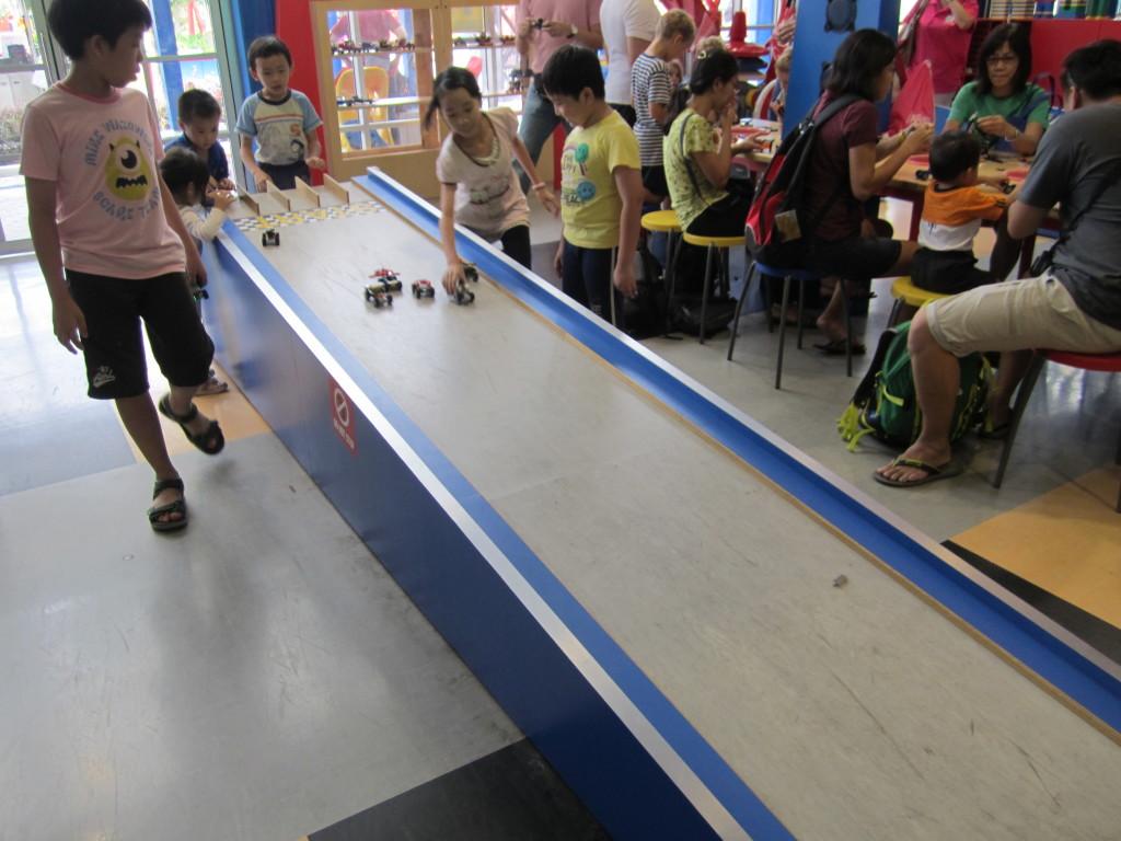 Legoland Malaysia Build and Test Race
