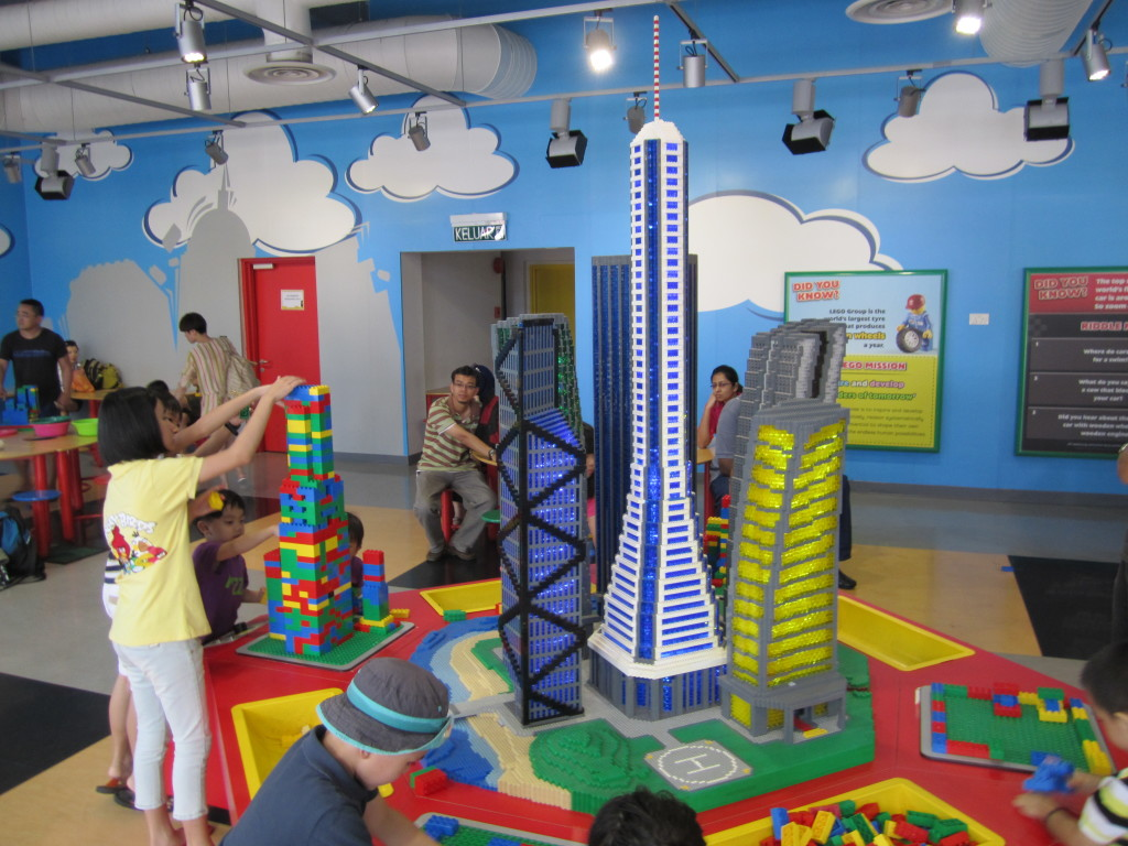 Legoland Malaysia Build and Test Tower Challenge