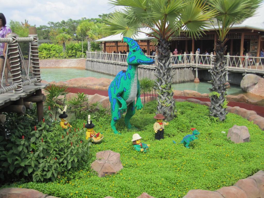 Legoland Malaysia Dino Island Sculptures