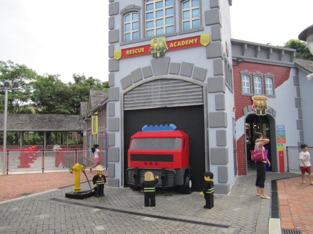 Legoland Malaysia Fire Rescue Academy