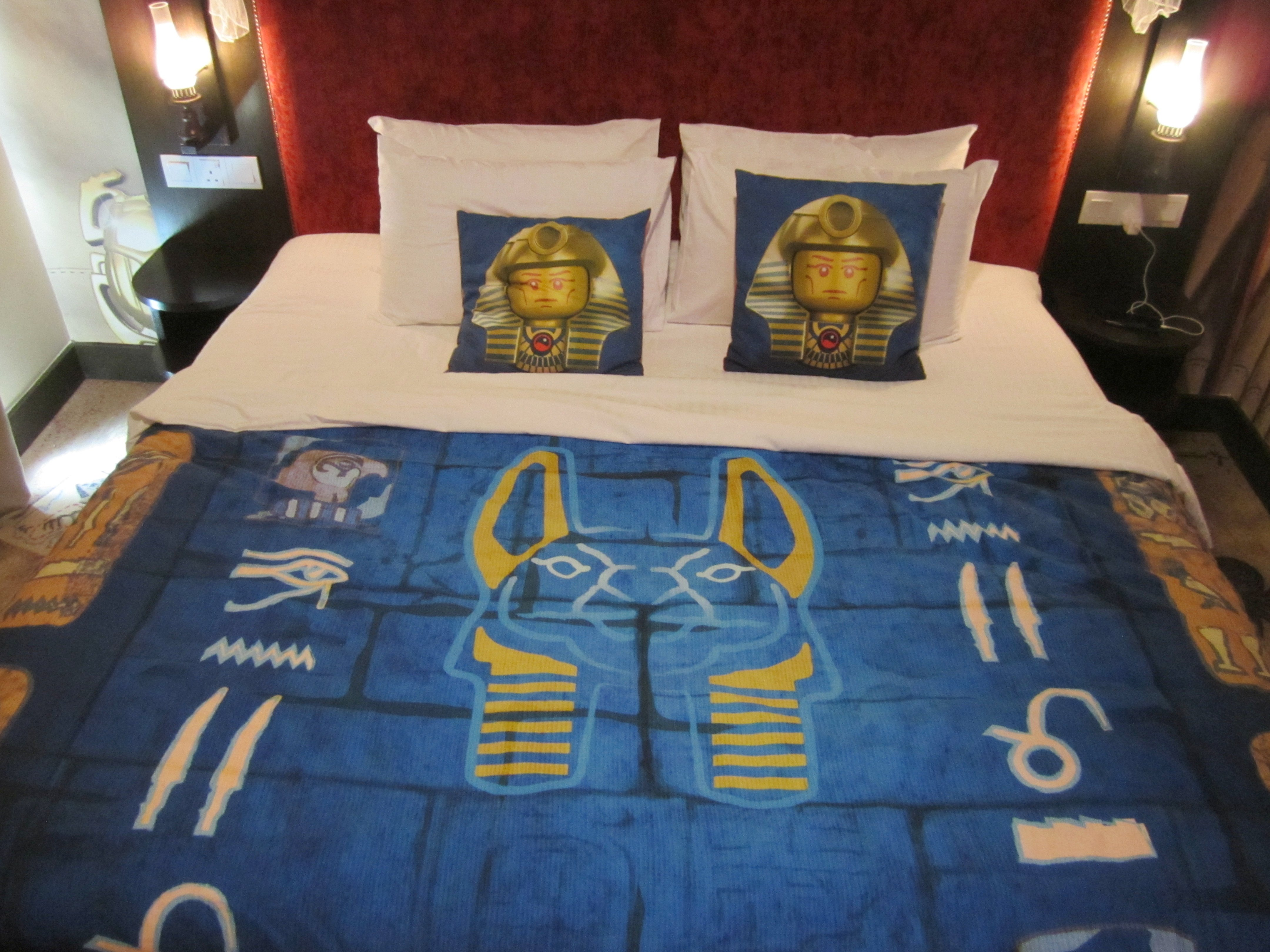 Charming Legoland Malaysia Hotel Adventure Room Bed Sheets