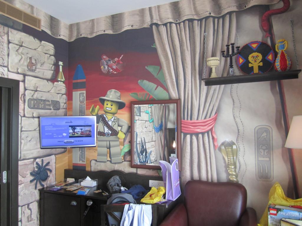 Legoland Malaysia Hotel Adventure Room Desk