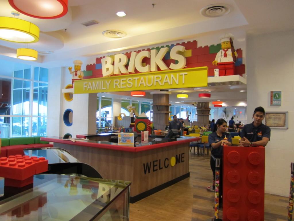 Legoland Malaysia Hotel Restaurant Menu