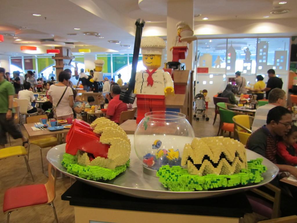 Legoland Malaysia Hotel Bricks Restaurant Sculptures