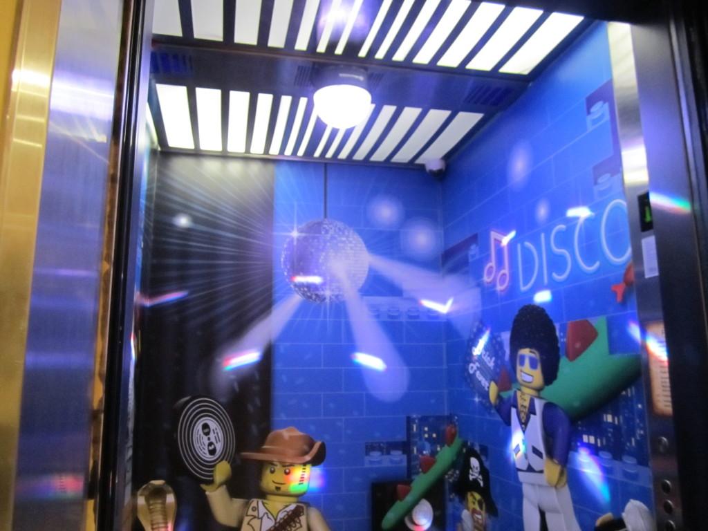 Legoland Malaysia Hotel Disco Lifts