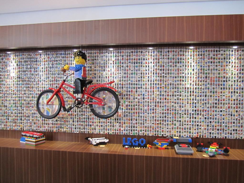 Legoland Malaysia Hotel Lobby Minifigure Wall
