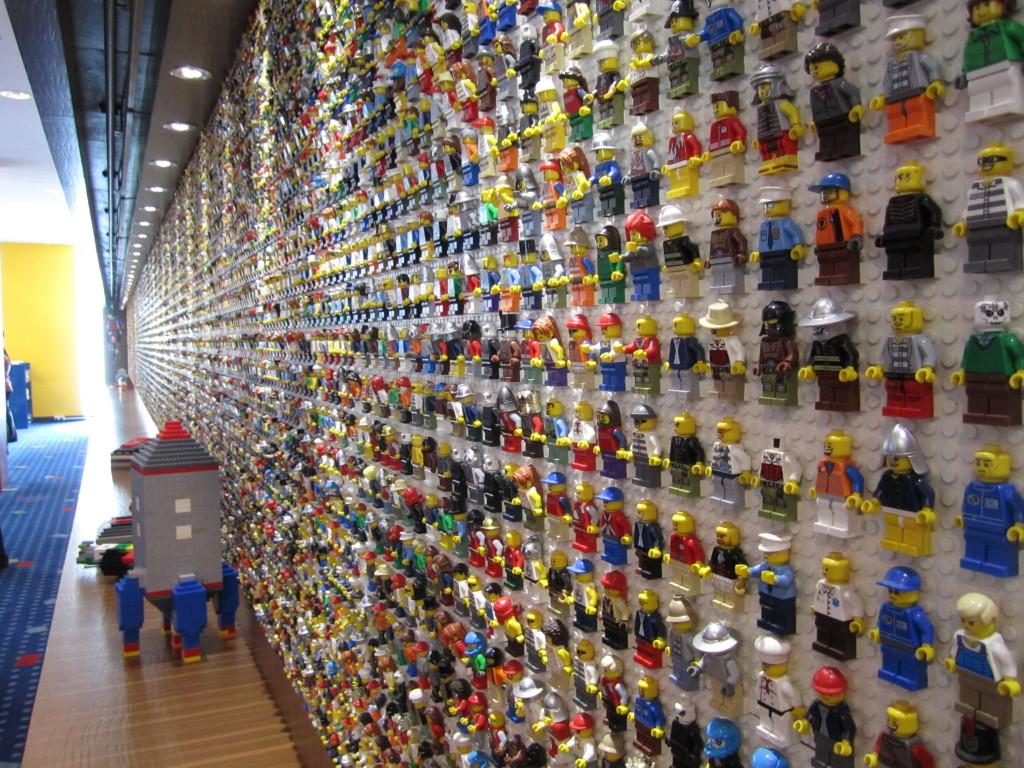 Legoland Malaysia Hotel Minifig Wall