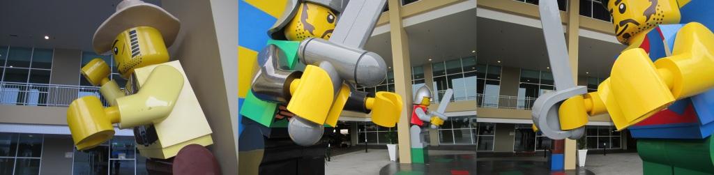 Legoland Malaysia Hotel Minifigure Statue Hands Error