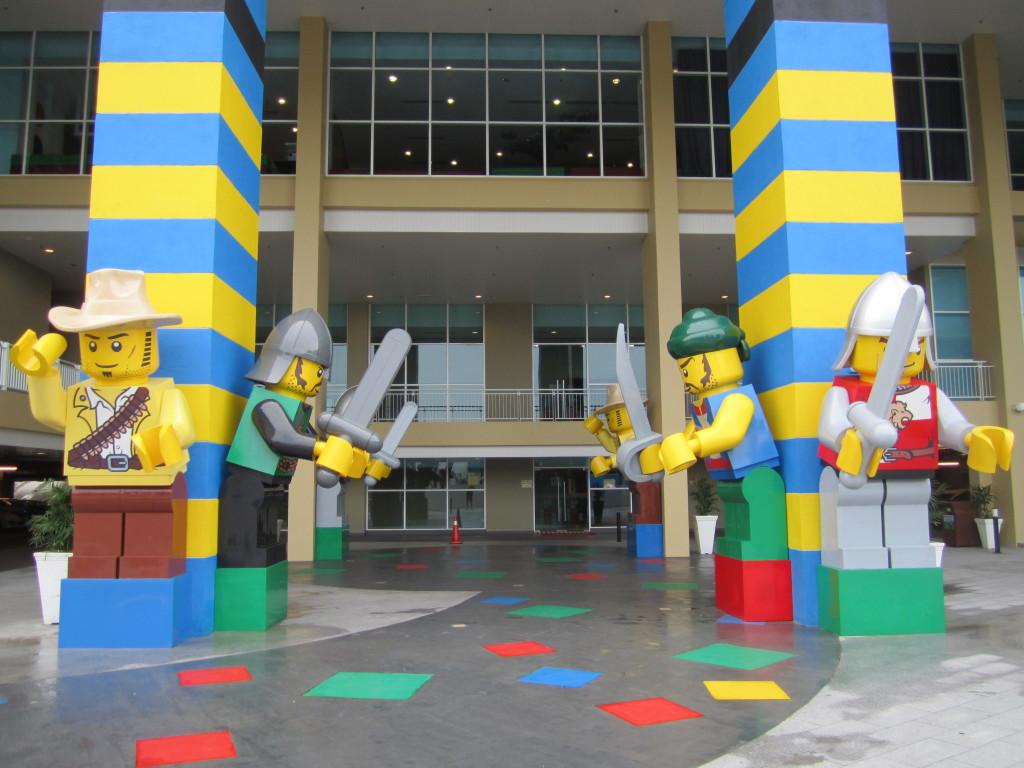 Legoland Malaysia Hotel Minifigure Statues