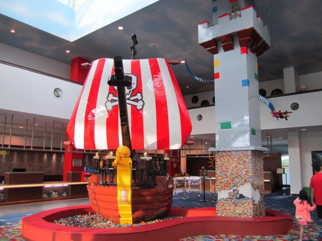 Legoland Malaysia Hotel Pirate Ship