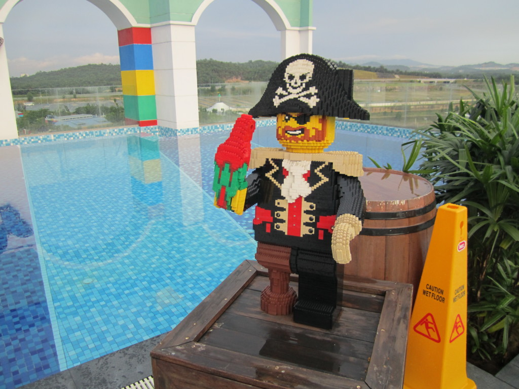 Legoland Malaysia Hotel Swimming Pool Sculptures