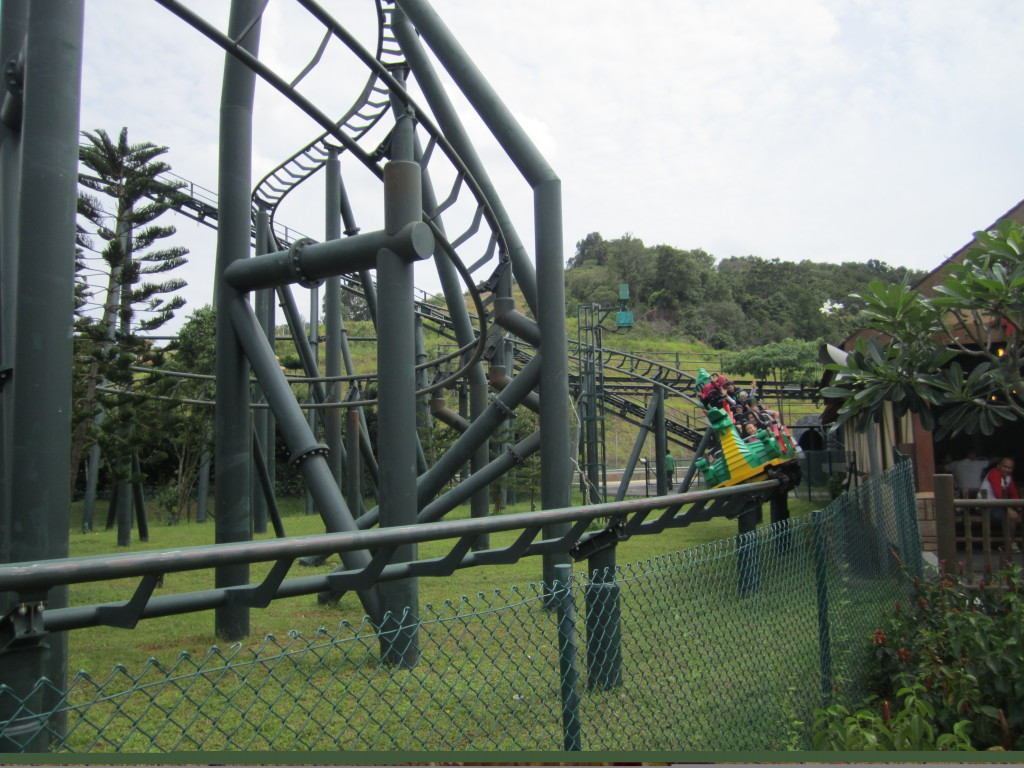 Legoland Malaysia Kngdoms The Dragon Roller Coaster