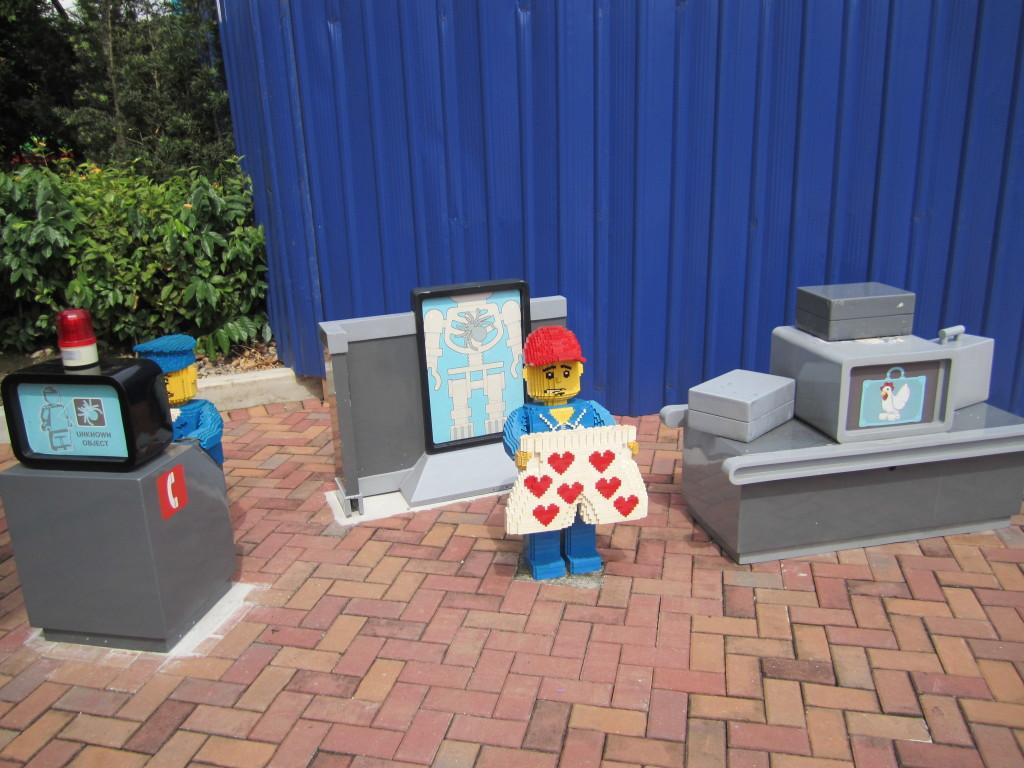 Legoland Malaysia LEGO City Baggage Screen