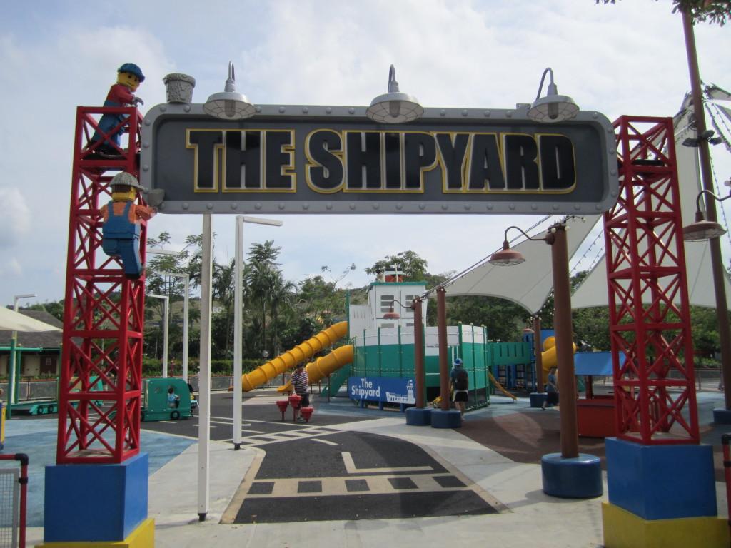 Legoland Malaysia LEGO City Shipyard