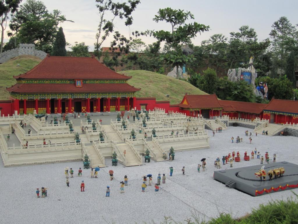 Legoland Malaysia Miniland Forbidden City China