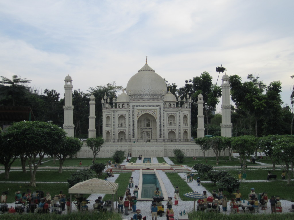Legoland Malaysia Miniland Taj Mahal