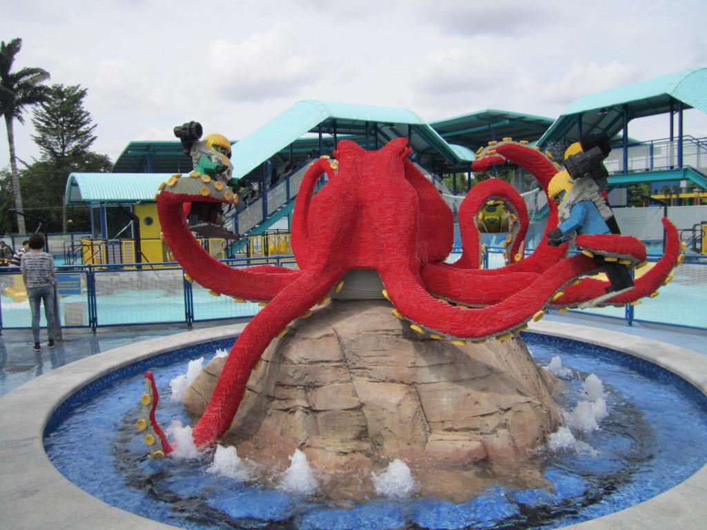 Legoland Malaysia Octopus Sculpture
