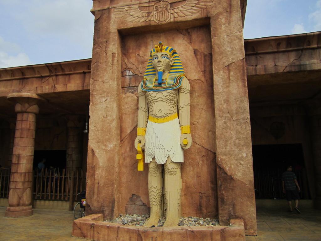 Legoland Malaysia Pharaoh Sculpture