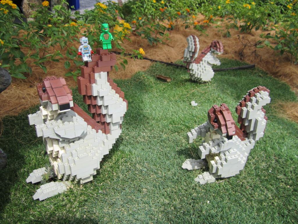 Legoland Malaysia Squirrel Sculptures