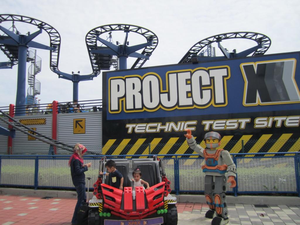 Legoland Malaysia Technic Project X