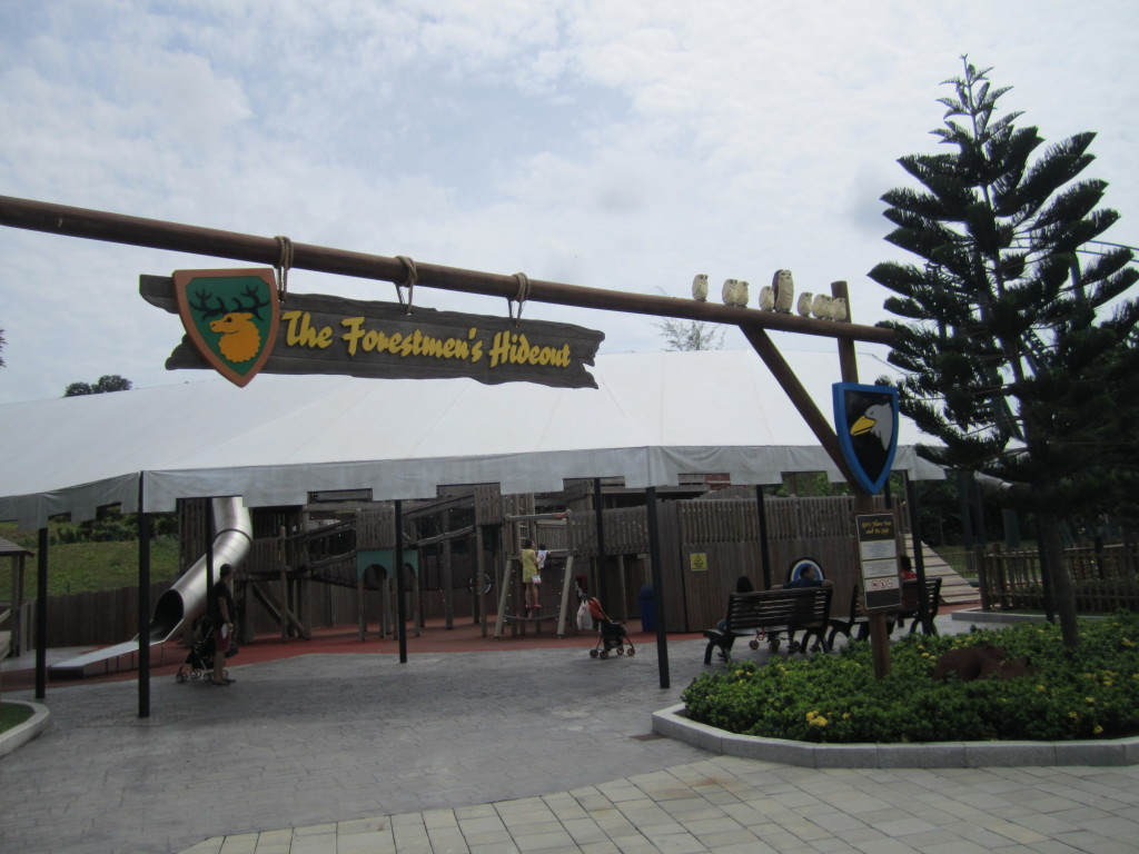 Legoland Malaysia The Forestmen's Hideout Entrance