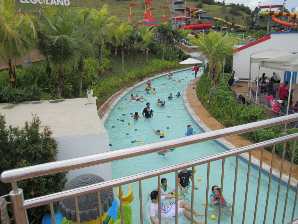 Legoland Malaysia Water Park Build a Raft River