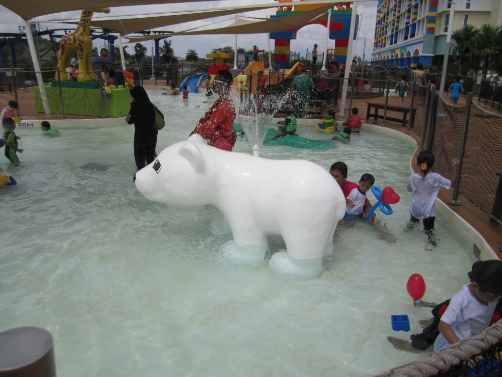 Legoland Malaysia Water Park Duplo Safari Polar Bear