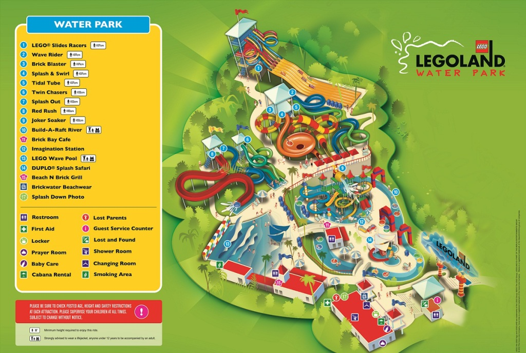 Legoland Malaysia Water Park Map