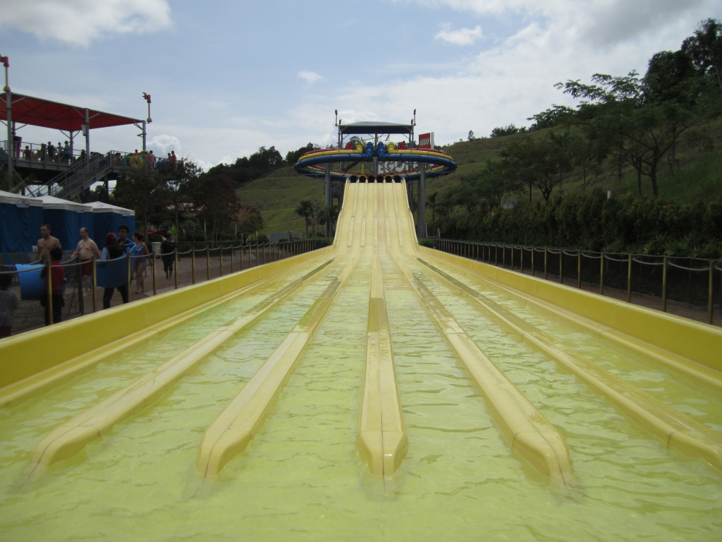 Legoland Malaysia Water Park Slide Racers