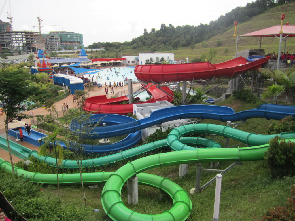 Legoland Malaysia Water Park Slides