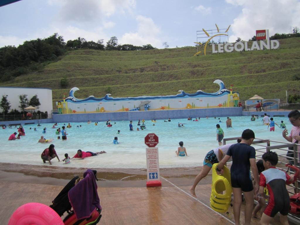 Legoland Malaysia Water Park Wave Pool