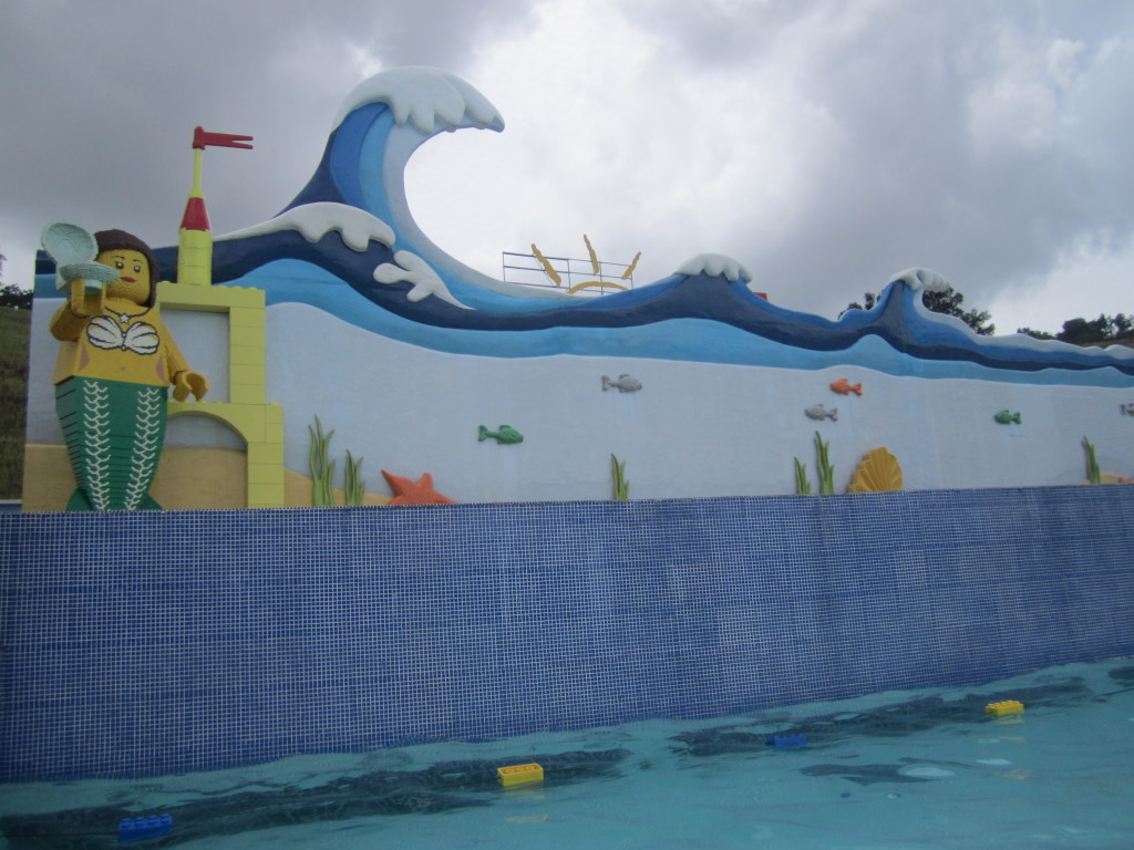 Legoland Malaysia Water Park Wave Pool Sculptures