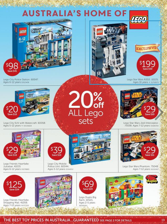 Target Toy Sale Australia : Australian lego sales november