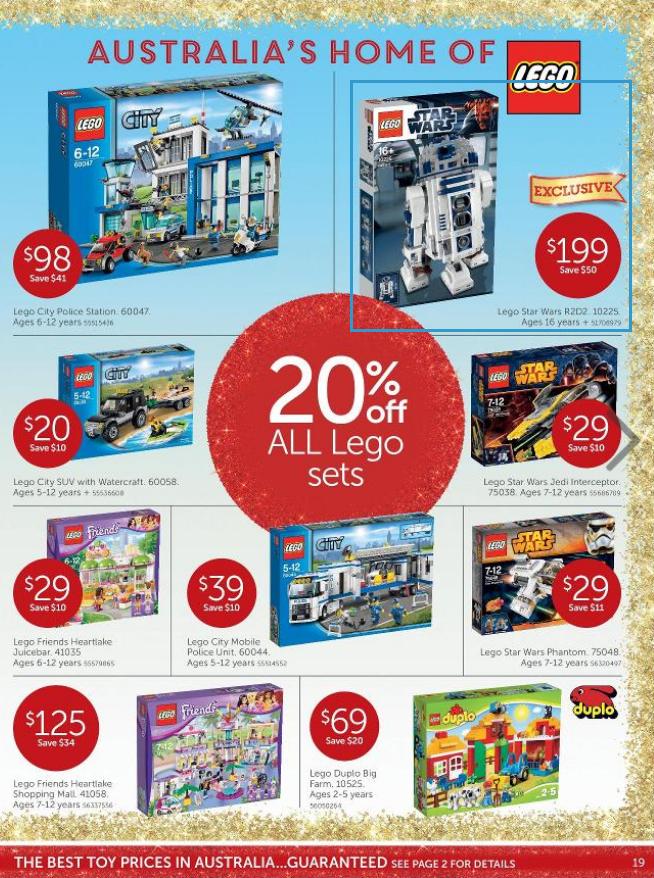 November Target LEGO Sale