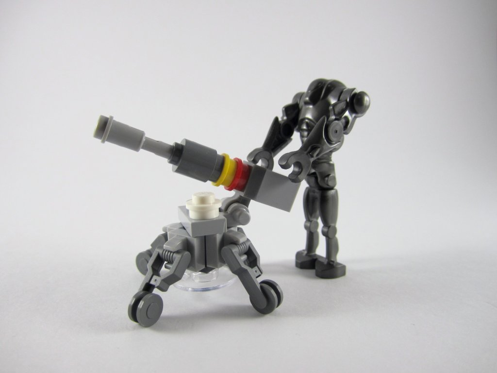 AV-7 Cannon and Super Battle Droid